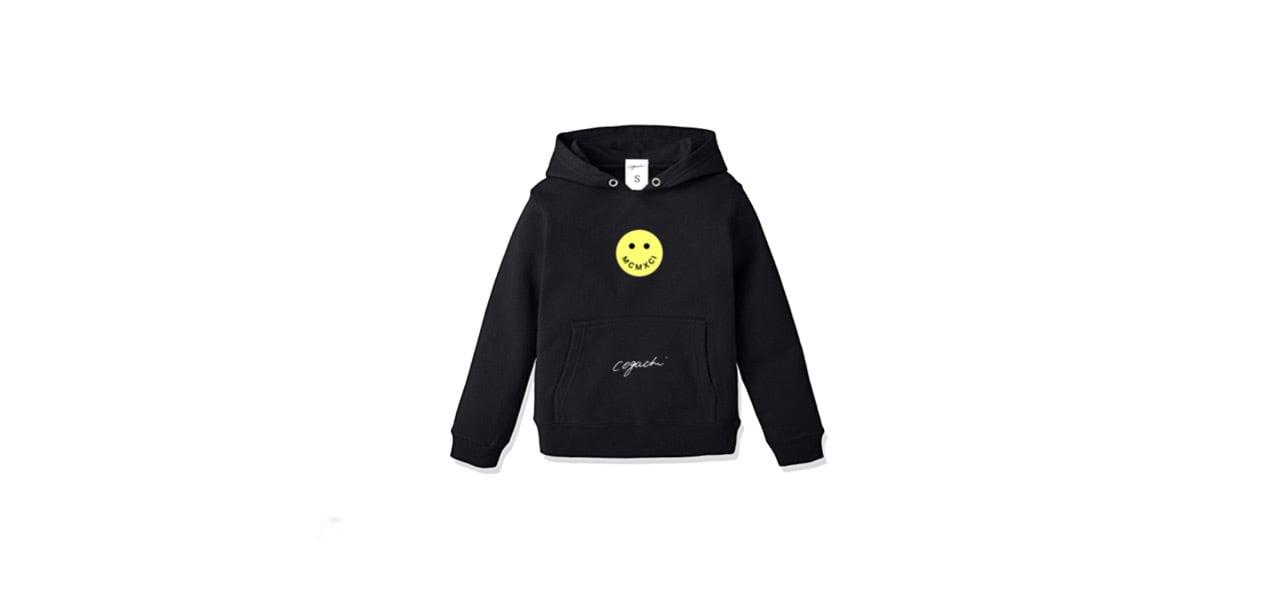 coguchi smile kids hoodie (BLK)