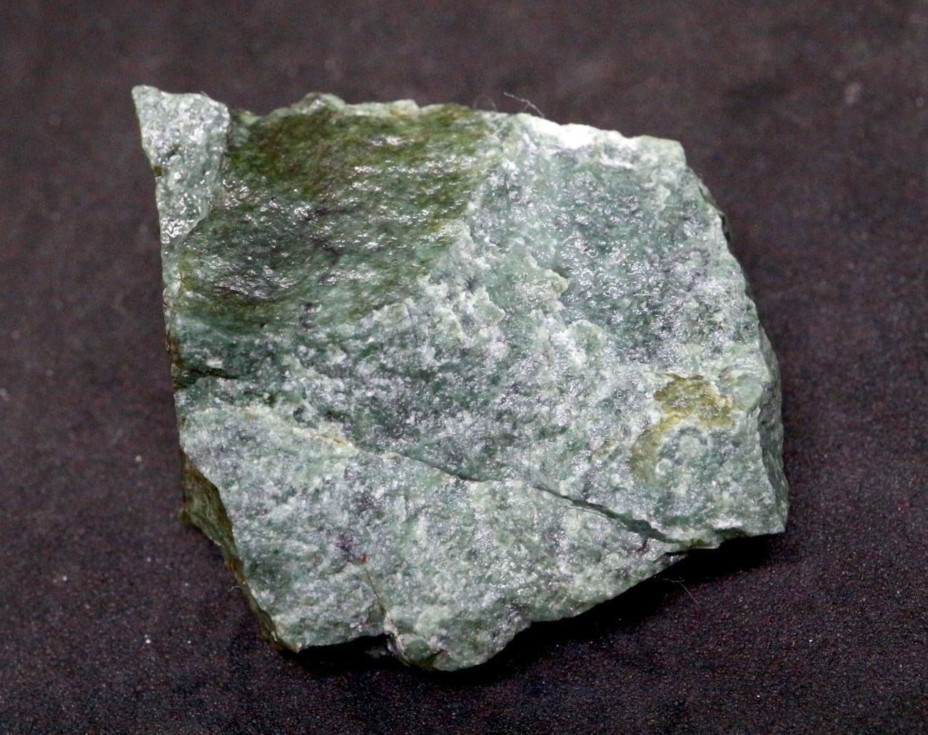 希少! カリフォルニア産  硬玉 翡翠 原石 ジェダイト 22,4g JDT004