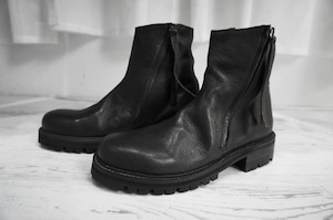 masnada / SIDE ZIP BOOTS / LIMITED BLK