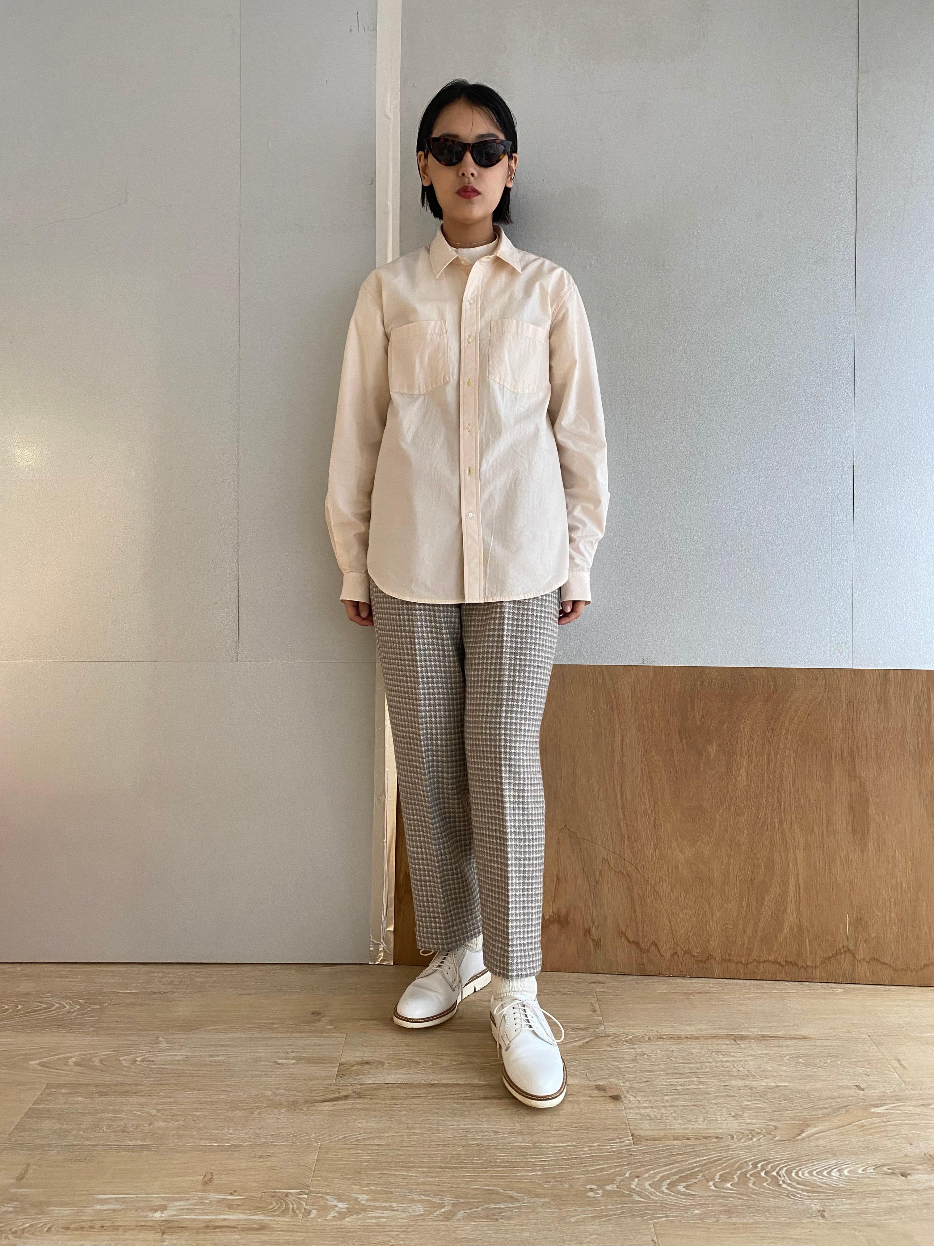 "Unisex long sleeve shirt ""pink""organic cotton"