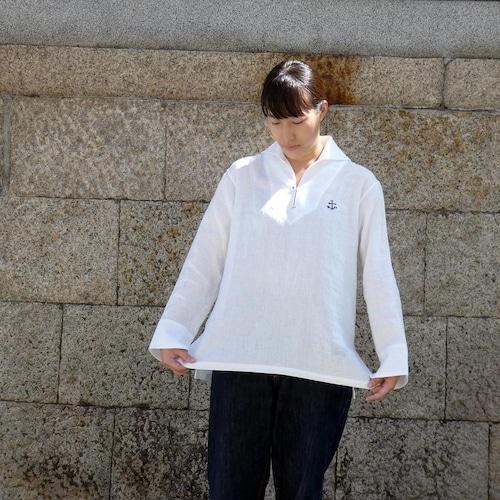 Sailor リネン プルオーバーシャツ