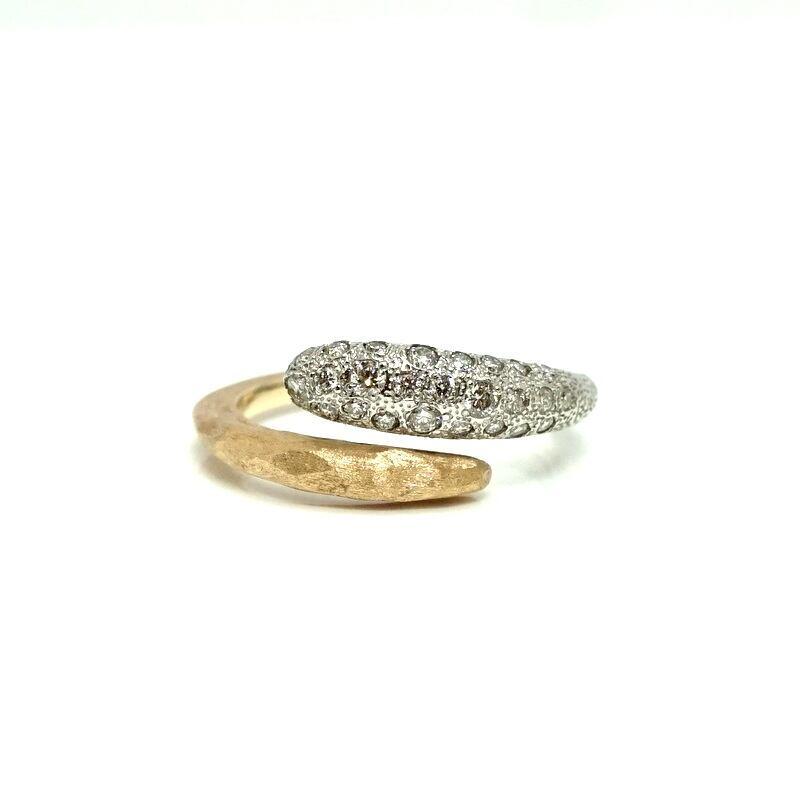 Milkyway ring - Pt900×K18YG