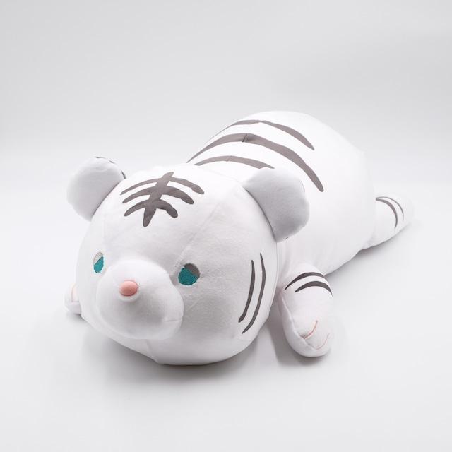 おねむクッション ホワイトタイガー(XLサイズ)