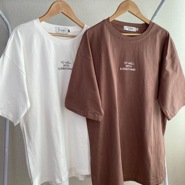 シンプルちびロゴTシャツ