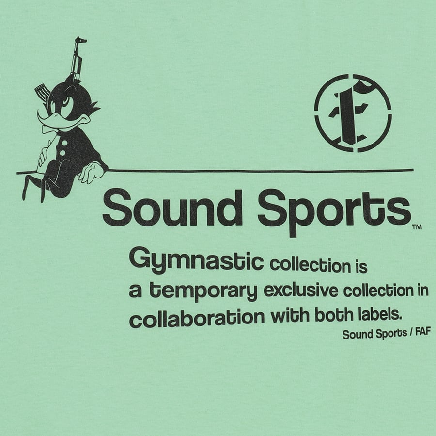 Practice uniform tee (FAFxSound Sports) / Light Green - 画像3