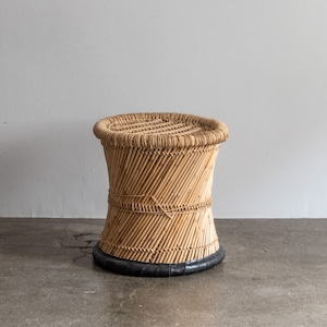 再入荷 JUTE STOOL インドのジュート(麻)とヨシ(葦)のスツール02
