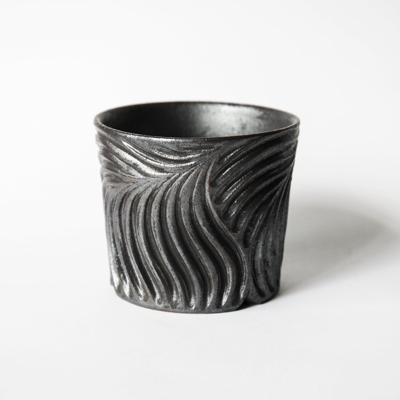 黒鎬植木鉢 (1)