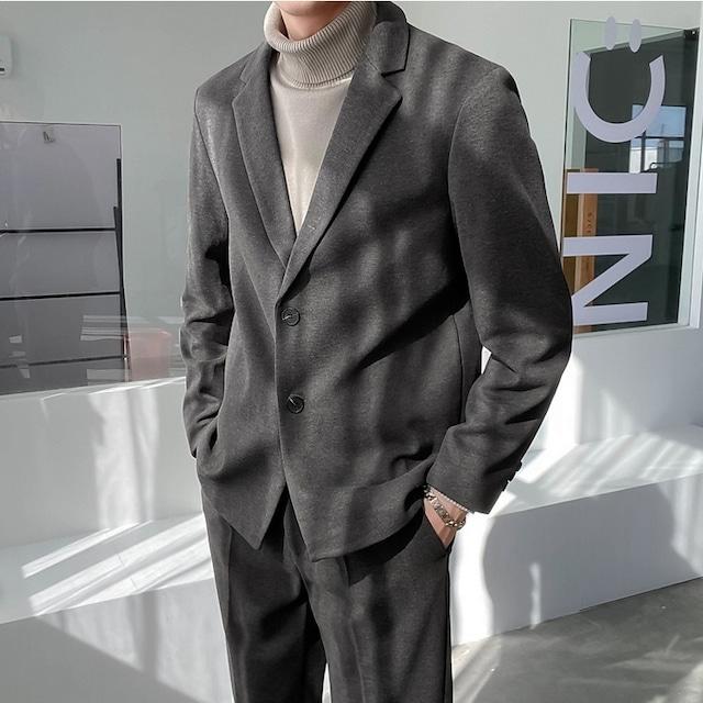Thick wool suit setup jacket   b-546
