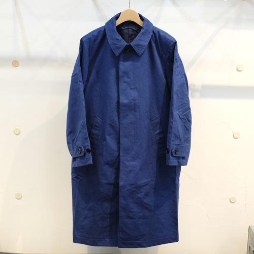 KUON(クオン) バルカラーコート ファナージュコットン ブルー