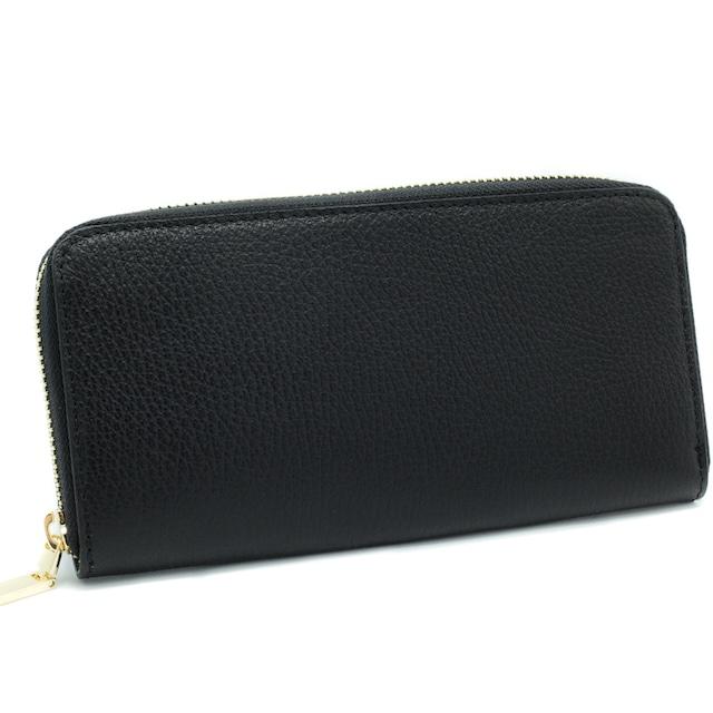 財布 イタリア製 ブラック