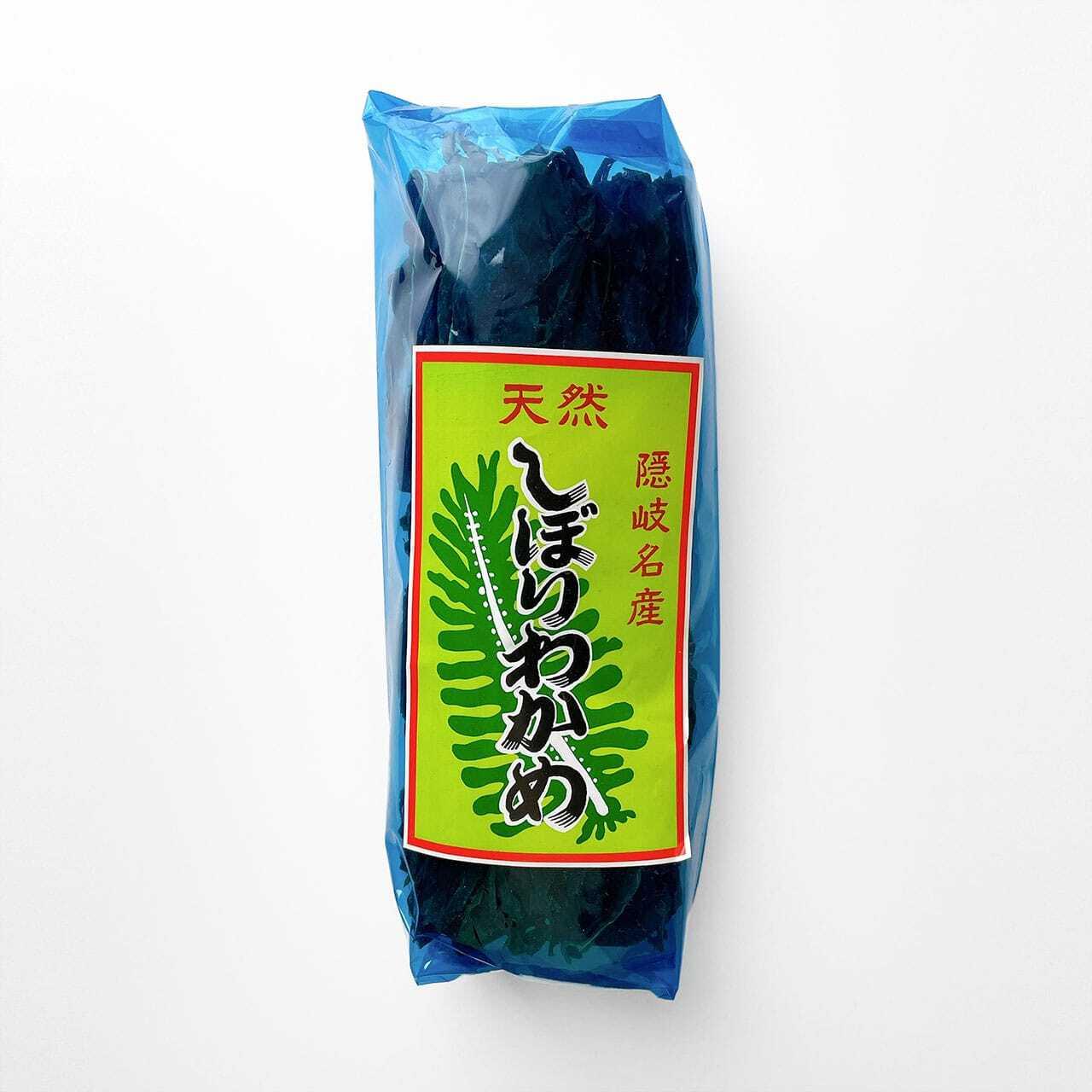 島根県・隠岐島『しぼりワカメ』