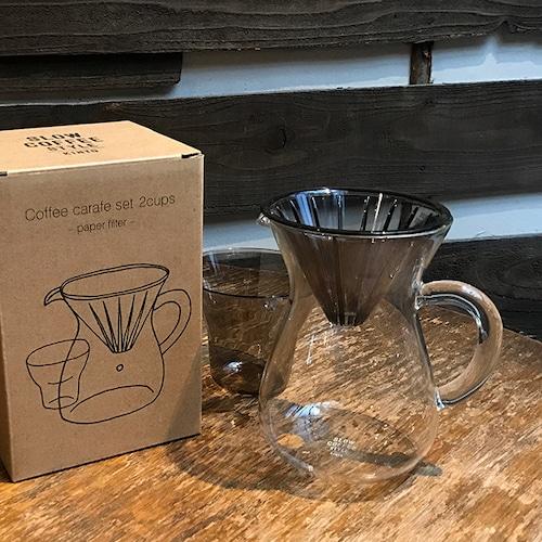 コーヒーカラフェセット プラスチック 2cup (KINTO SLOW COFFEE STYLE)