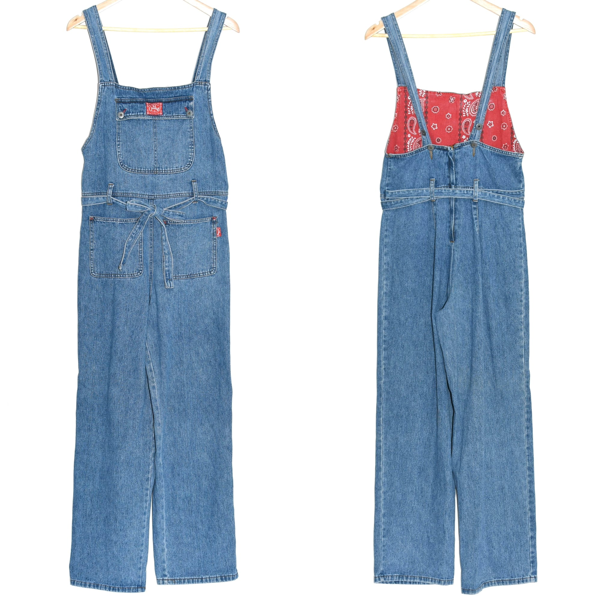 90's Outlaw BLUE JEANS denim overalls
