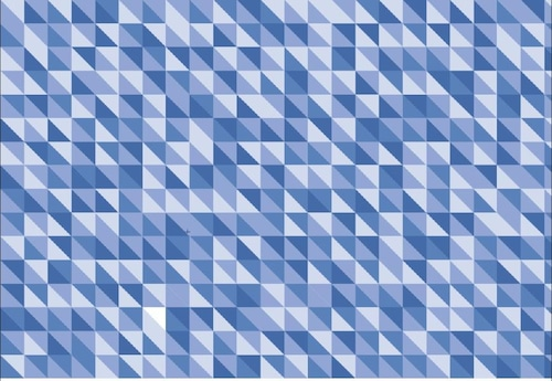 三角模様(青)(ab_0001_b)