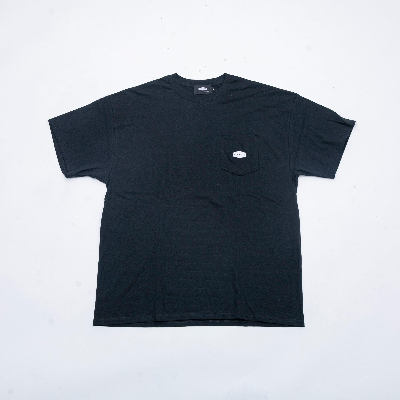 POCKET T-SHIRTS BLACK