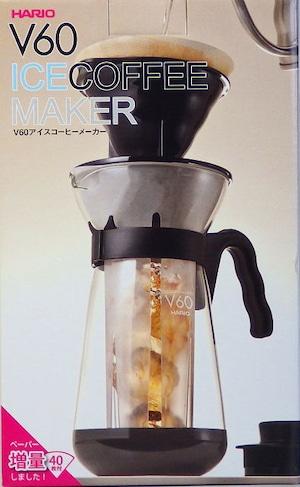 ハリオV60 急冷式アイスコーヒーメーカー VIC-02B 2~4杯用 ブラック