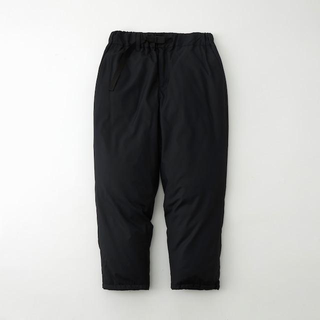 WM × TAION TWILLED DOWN PANTS - BLACK