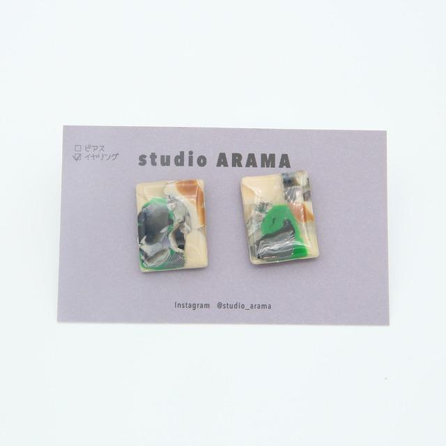 studioARAMA/スタジオアラマ/アートミニイヤリング/AM-2-17