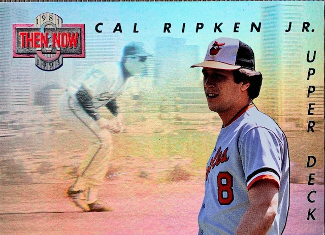 MLBカード 93UPPERDECK Cal Ripken JR #TN4 ORIOLES