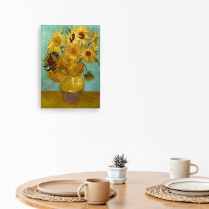 素敵なアートパネル A4サイズ ひまわり フィンセント・ファン・ゴッホ