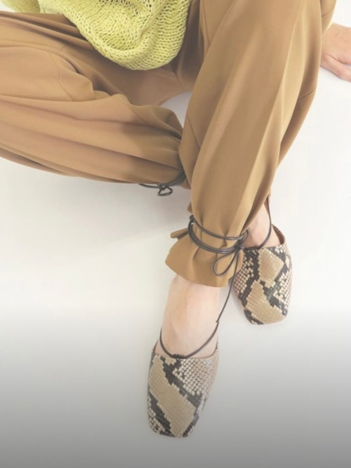 【Pelleterno】2WAY LACE-UP SHOES