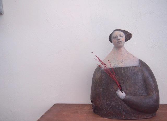 陶器作品「nana」
