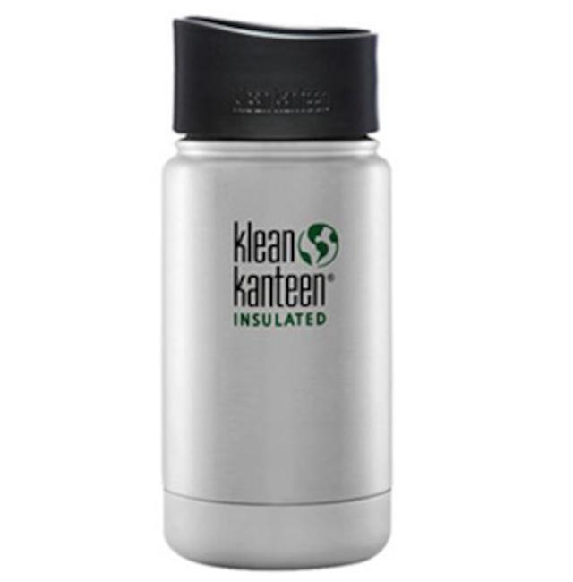 Klean Kanteen ワイドインスレートボトルカフェキャップ2.0 12oz マットコヨーテ