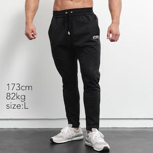 travelight stretch long pants (BLACK)