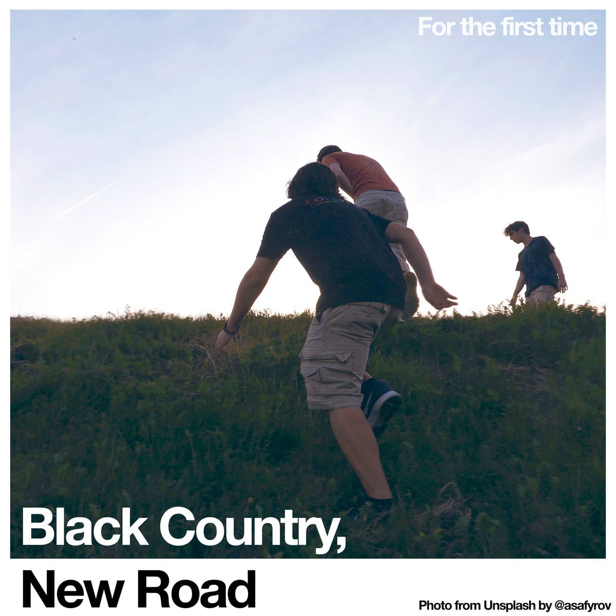 Black Country, New Road / For the first time(Ltd White LP)