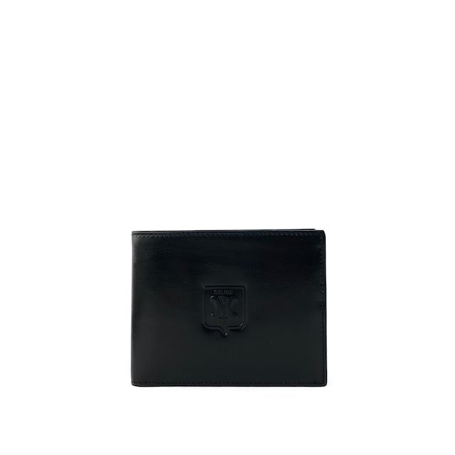 CELINE セリーヌ ブラゾン型押し レザー財布 ブラック Accessories wahst6