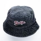 Basket Hat - Black Denim