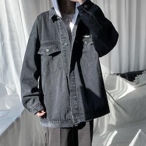 フード付きデニムジャケット BL9599