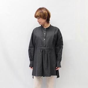 OUTERSUNSET(アウターサンセット) herringbone linen blouse 2021春夏新作 [送料無料]