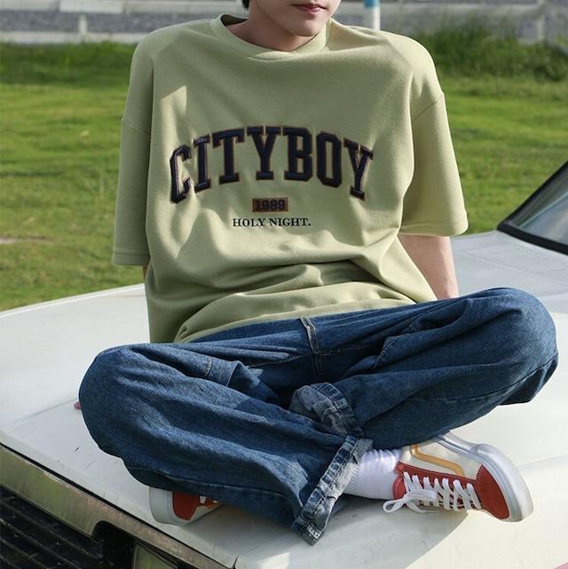 CITY BOY ロゴTシャツ YH1875