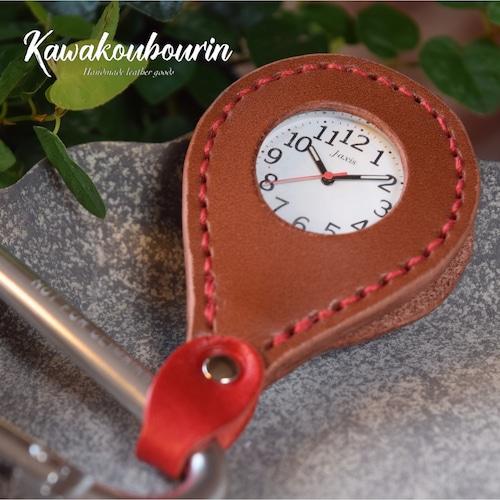 【オーダーメイド制作例】時計のキーホルダー(時計持ち込み)  (KA166c2)