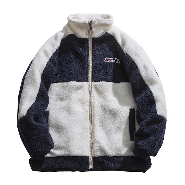 ボアジップジャケット M-XL