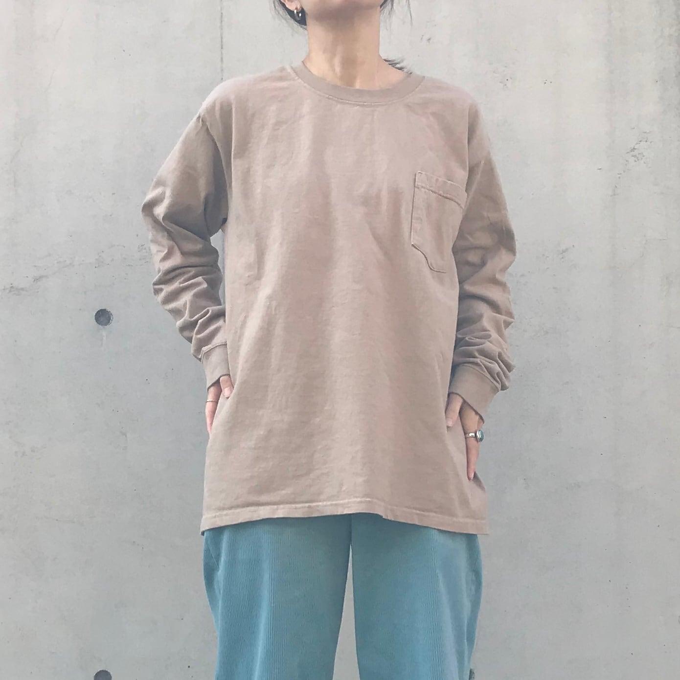 Goodwear ロングスリーブTシャツ BEG