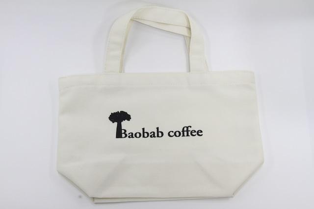 Baobabcoffeeキャンバストート ナチュラルホワイト
