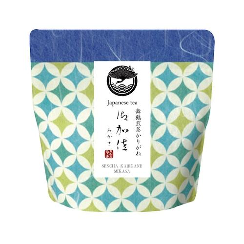 【いろどり】舞鶴上煎茶かりがね 御加佐(みかさ)リーフ(茶葉)