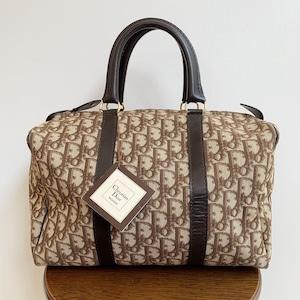 Dior トロッターボストンバッグ