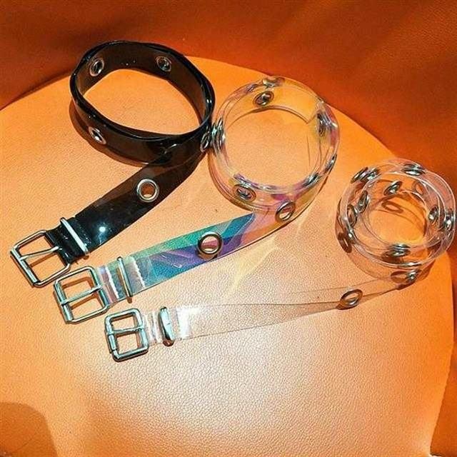 【小物】合わせやすいファッション透明シンプルベルト43176224