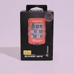 【限定カラー】LEZYNE SUPER GPS【レッド】