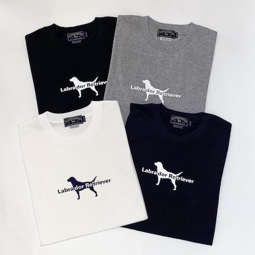 犬ロゴTシャツ