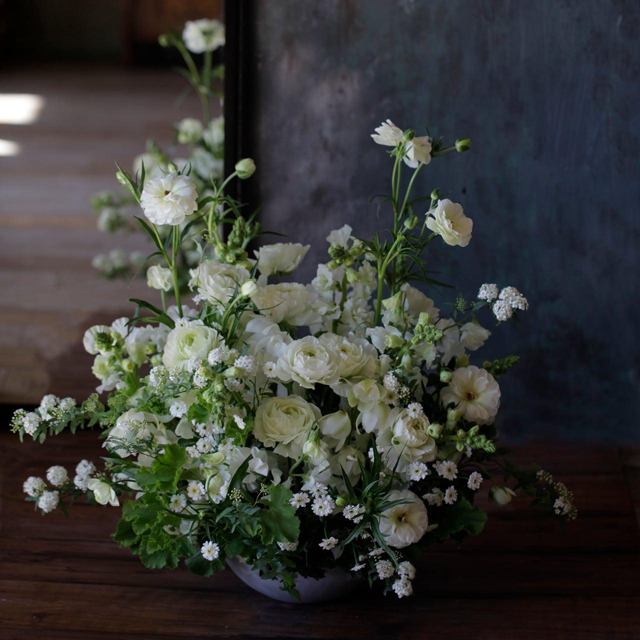 Sympathy Flower <白>