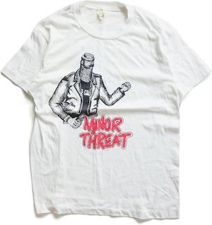80年代 マイナー・スレット バンド Tシャツ 【M】 | MINOR THREAT イアン・マッケイ ヴィンテージ 古着