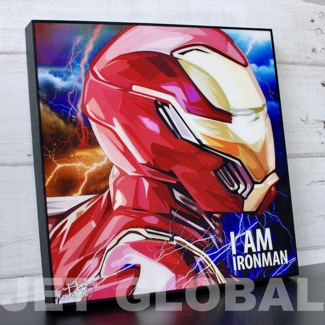 アイアンマン / I AM IRON MAN / Lサイズ 52cm / PAPMA_0076