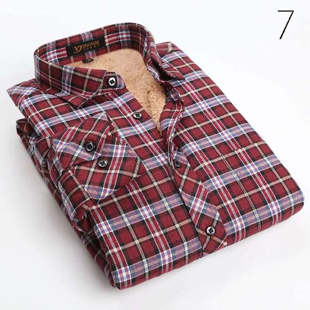 ネルシャツ チェックシャツ メンズ アメカジ カジュアル ワイシャツ Yシャツ 長袖tps-76