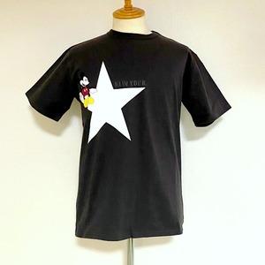 Schott / Disney T-shirts Star New York Black