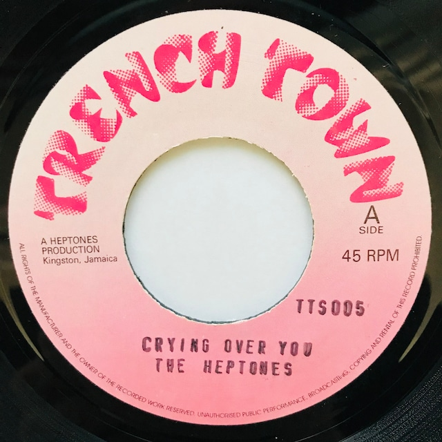 The Heptones - Crying Over You【7-11047】