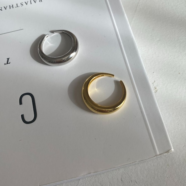 ◆即納◆【フリーサイズ】シルバー925 シンプルリング silver925 シルバー/ゴールド